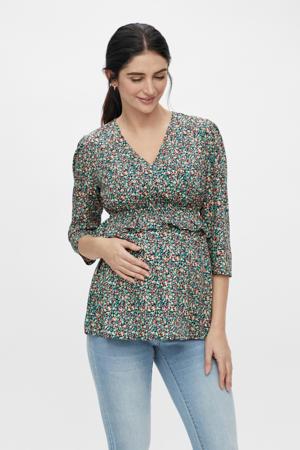 zwangerschapstop Nathalia van gerecycled polyester multicolor