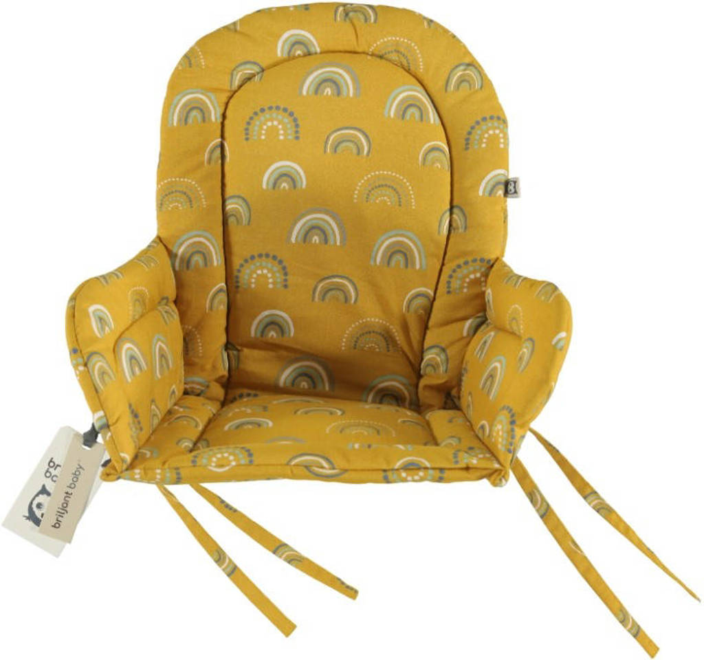 Briljant Baby Rainbow stoelverkleiner okergeel, Okergeel