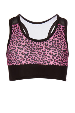 sporttop roze/zwart
