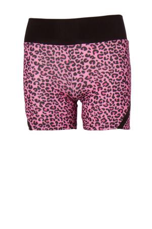 sportshort roze/zwart