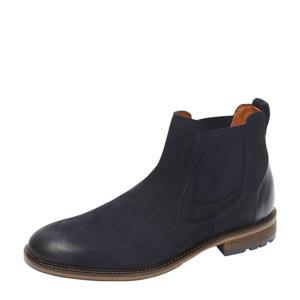 Henry  nubuck chelsea boots donkerblauw