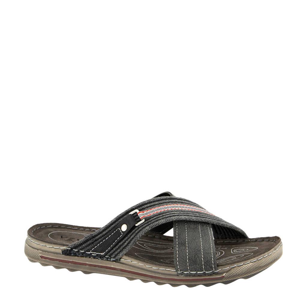 Venice   slippers grijs, Grijs
