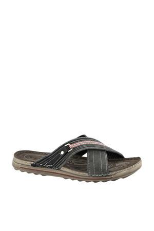 slippers grijs
