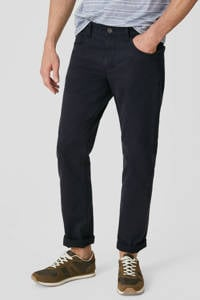 C&A Canda regular fit broek donkerblauw, Donkerblauw