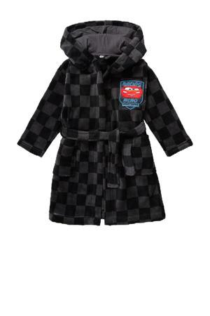 Disney Cars velours badjas zwart/antraciet