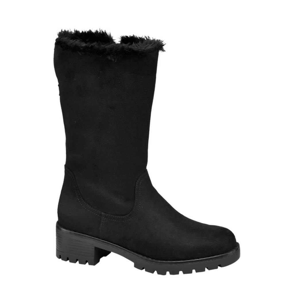 Landrover   laarzen zwart, Zwart