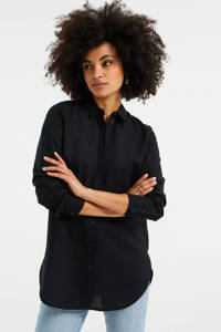 WE Fashion blouse zwart, Zwart