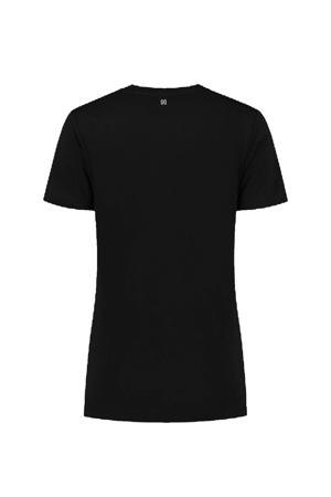T-shirt met tekst zwart