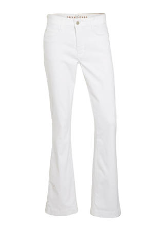 flared jeans Dream Boot d010 white
