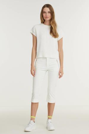 slim fit capri jeans Dream Capri Zip wit
