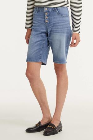 regular fit bermuda jeans d417 light summer wash