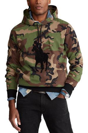 hoodie met camouflageprint army