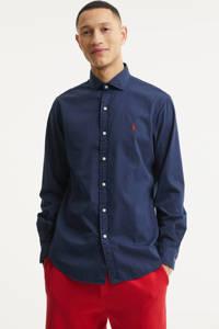 POLO Ralph Lauren regular fit overhemd donkerblauw, Donkerblauw