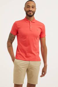 POLO Ralph Lauren slim fit polo rood, Rood
