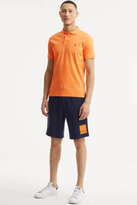 POLO Ralph Lauren regular fit sweatshort donkerblauw, Donkerblauw