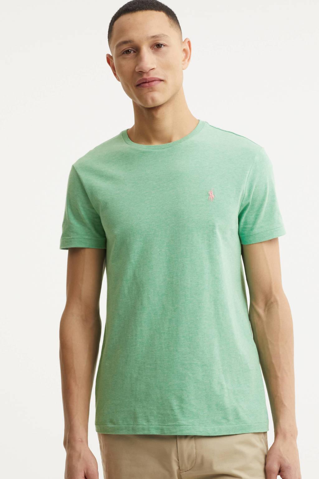 POLO Ralph Lauren gemêleerd T-shirt mintgroen, Mintgroen