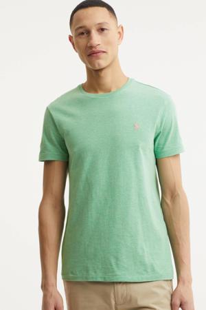 gemêleerd T-shirt mintgroen