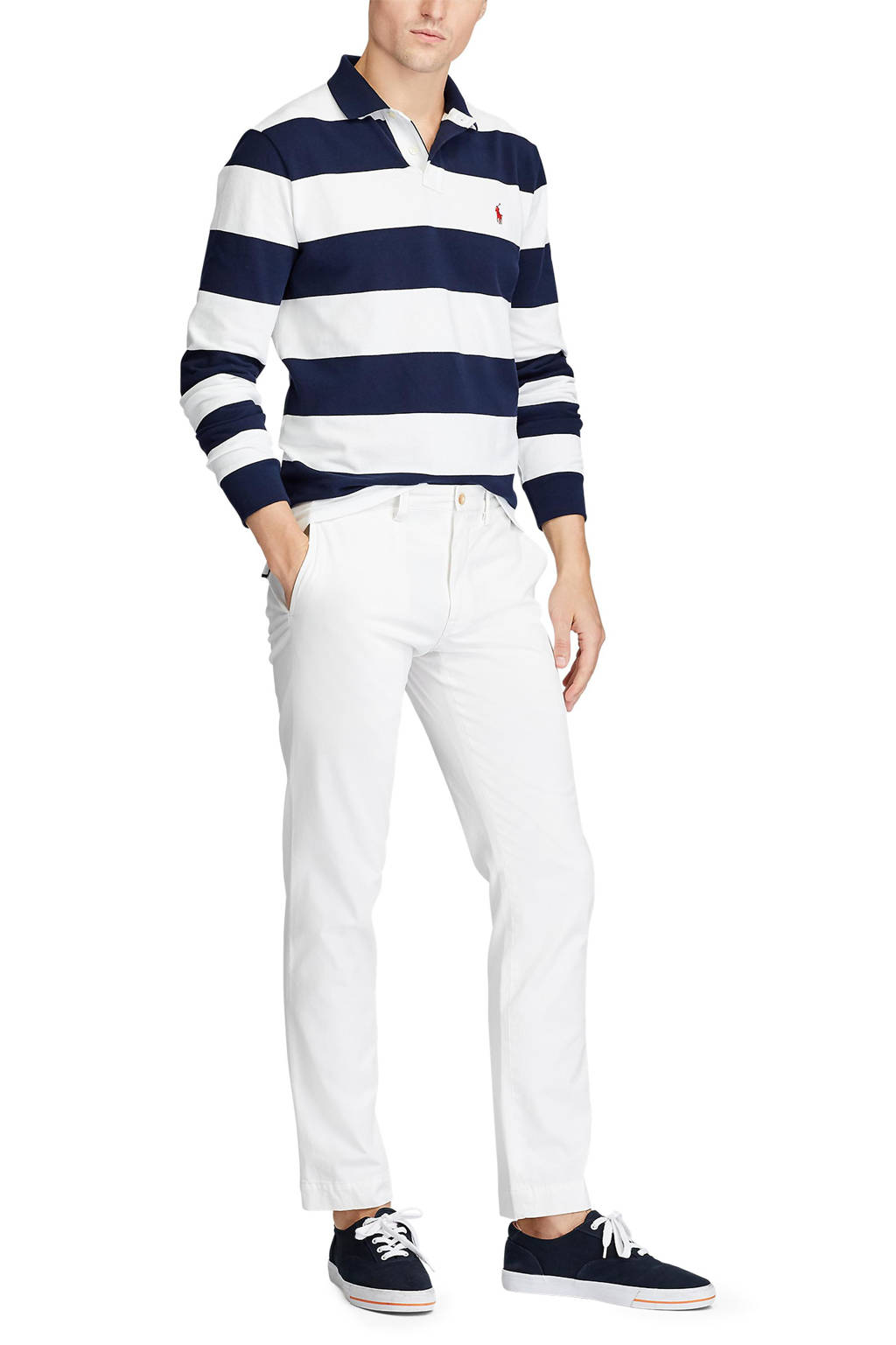 POLO Ralph Lauren regular fit chino wit, Wit