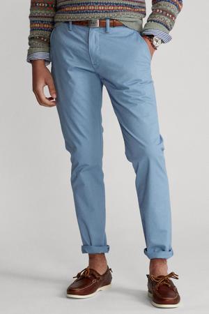 regular fit chino blauw