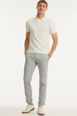 slim fit chino soft grey