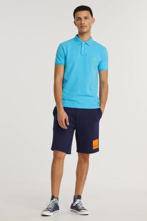 slim fit polo lindsay blue