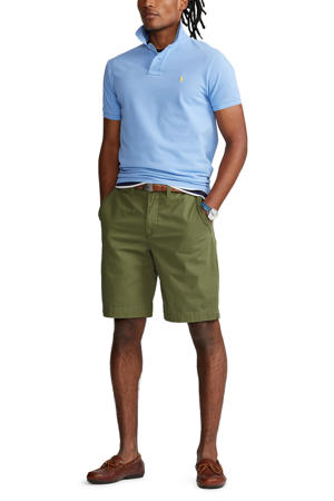 regular fit chino short army olive