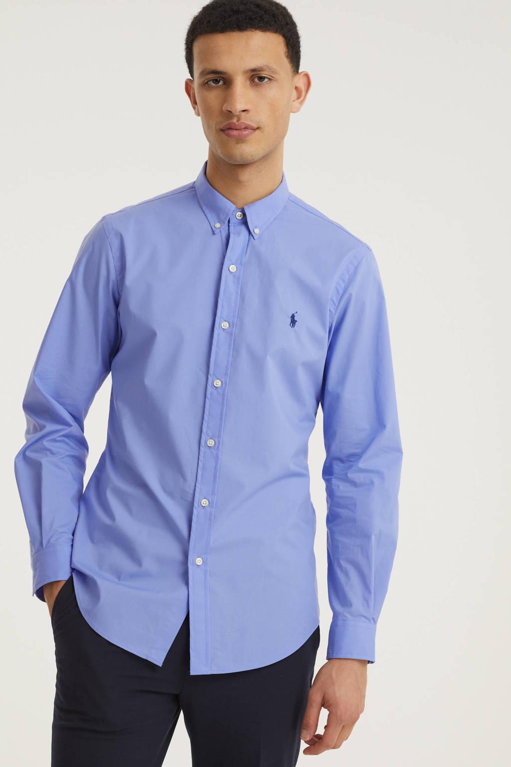 POLO Ralph Lauren regular fit overhemd lavendelblauw, Lavendelblauw