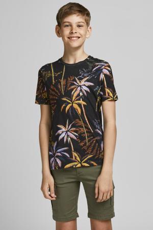T-shirt Tropicana met all over print multi color