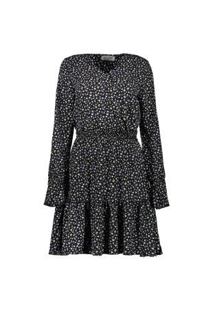 A-lijn jurk JOELLE met all over print black