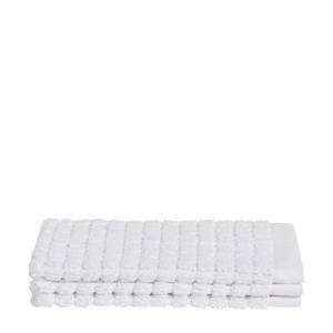 washand (set van 3) (16x21 cm) Wit