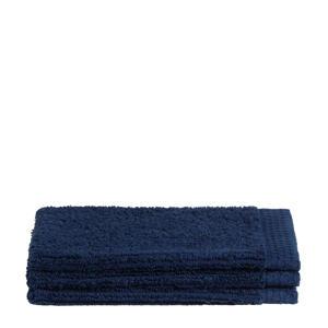 washand (set van 3) (16x21 cm) Blauw