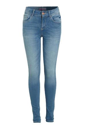 high waist super skinny jeans Chelsea light blue stone