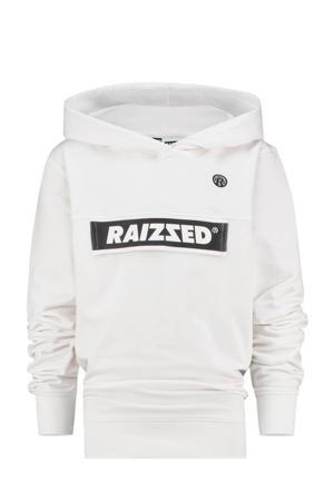 hoodie Norwich met logo wit