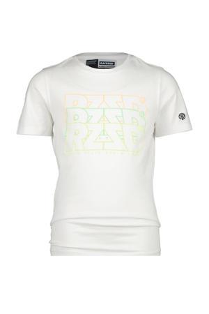 T-shirt Hayward met logo wit