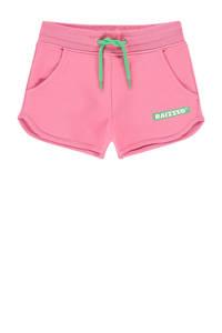 Raizzed sweatshort Auston met logo roze, Roze