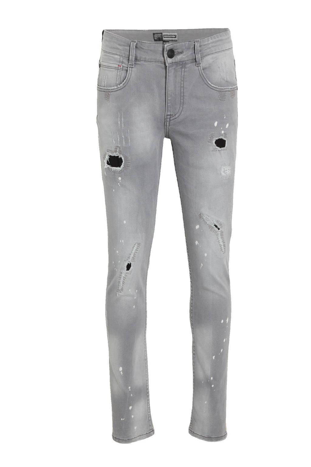 Raizzed skinny jeans Tokyo mid grey stone, Mid grey stone