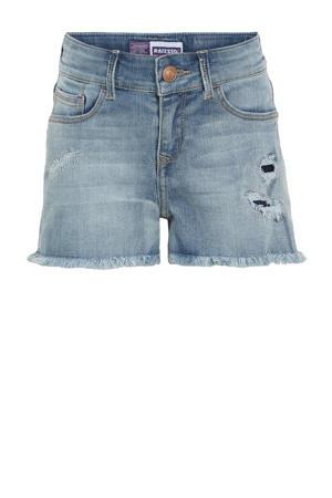 high waist jeans short Louisiana vintage blue