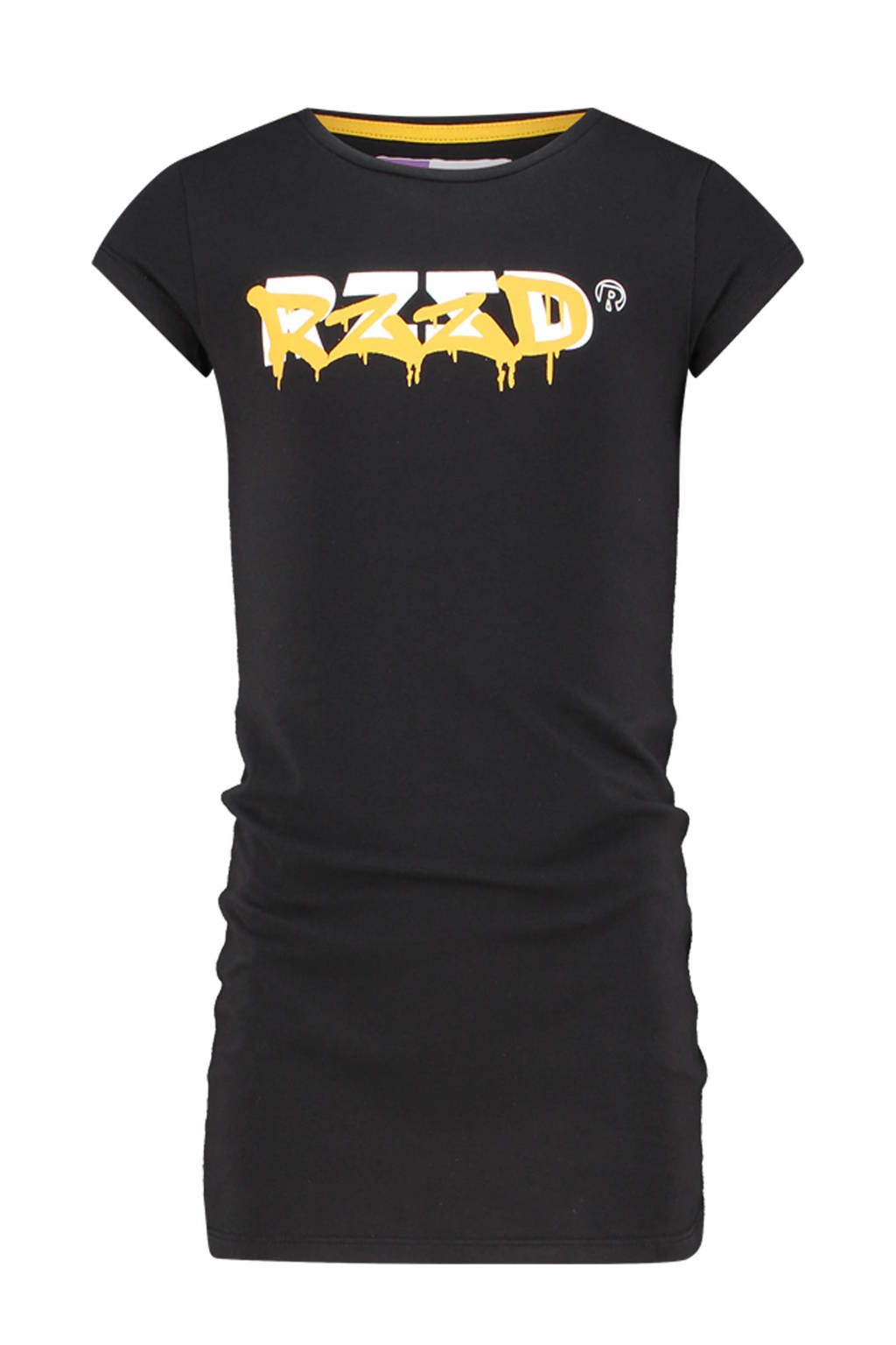 Raizzed T-shirtjurk Taipei met logo zwart, Zwart