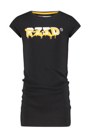 T-shirtjurk Taipei met logo zwart