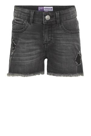 high waist jeans short Louisiana vintage grey