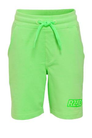 sweatshort Rome neon groen