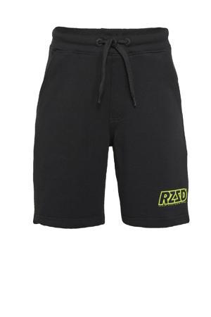 regular fit sweatshort Rome zwart