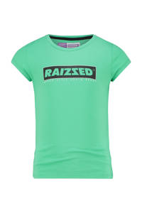 Raizzed T-shirt Atlanta met logo fris groen, Fris groen