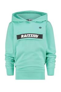 Raizzed hoodie Norwich met logo mintgroen, Mintgroen