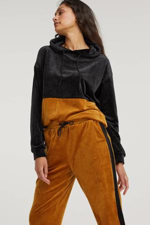 hoodie Daniella zwart/oranje