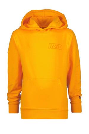hoodie Natal met logo neon oranje