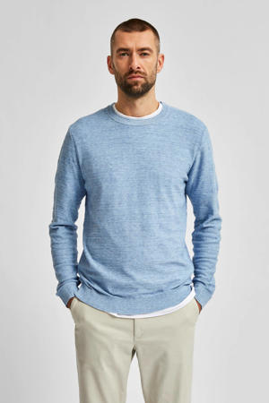 gemêleerde trui Buddy blauw