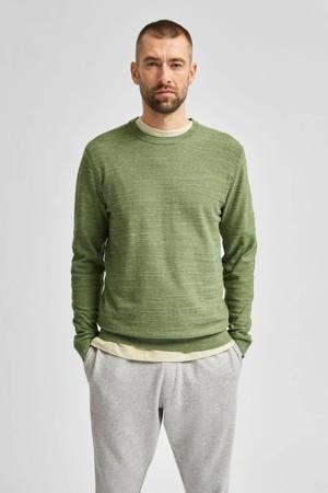 gemêleerde trui Buddy groen