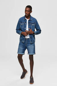 SELECTED HOMME jeans short Alex medium blue, Medium blue