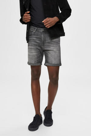 jeans short Alex grijs